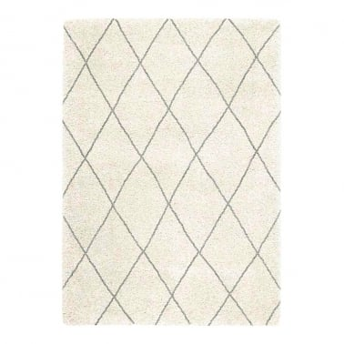 Logan Floor Rug, Pure Polypropylene, Grey