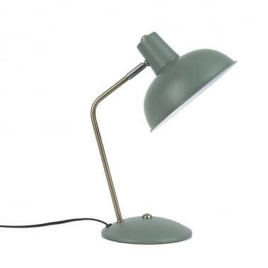 Hood Metal Desk Lamp, Grey