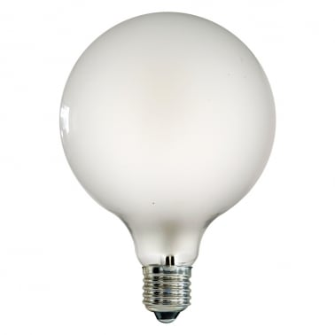 Large Globe LED 4W Frosted Light Bulb G125 - E27