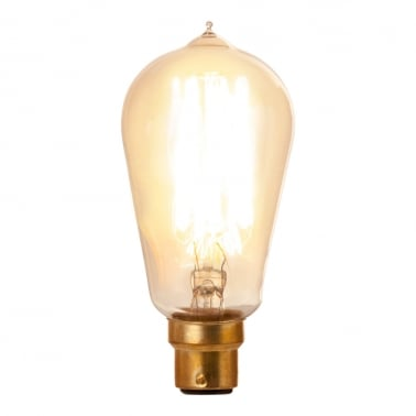 Hair Pin Filament Light Bulb ST58 Dimmable - B22 40W