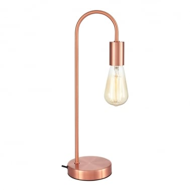 Neo Metal Table Lamp, Copper