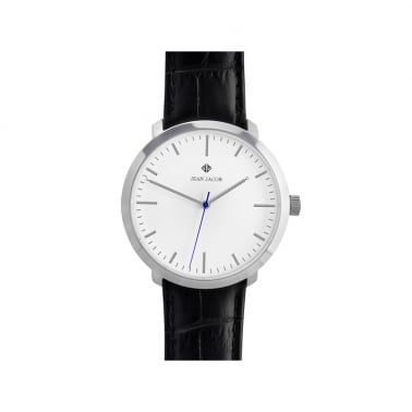 Unisex London Classic Watch, 40mm in Silver