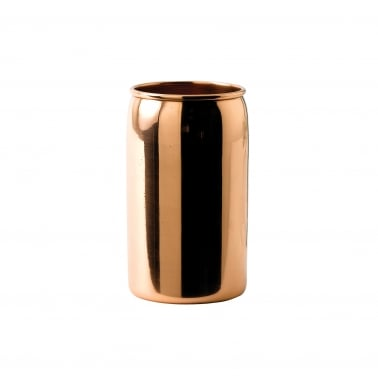 Beer Can Shaped Cocktail Tumbler, Copper 42cl