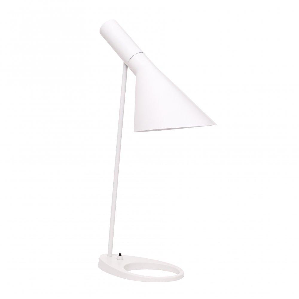 White Desk Lamp : Aj style table lamp white cult uk