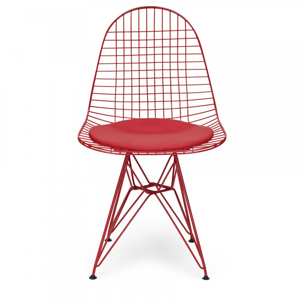 style red dkr wire chair cult furniture uk. Black Bedroom Furniture Sets. Home Design Ideas