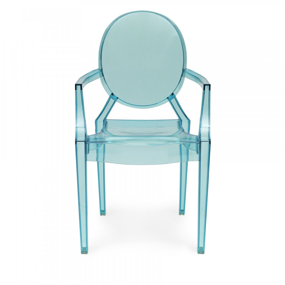 style blue louis ghost armchair - ghost style blue louis ghost armchair