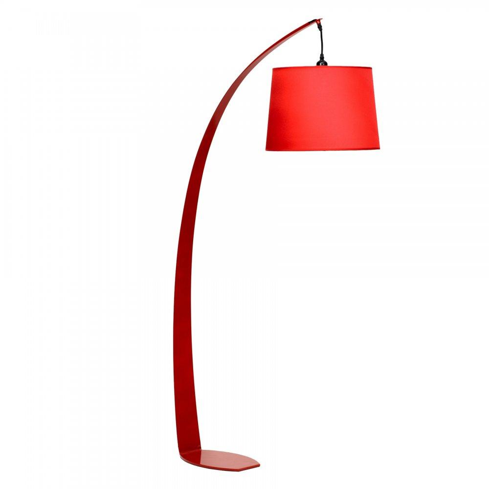 red fez floor lamp -