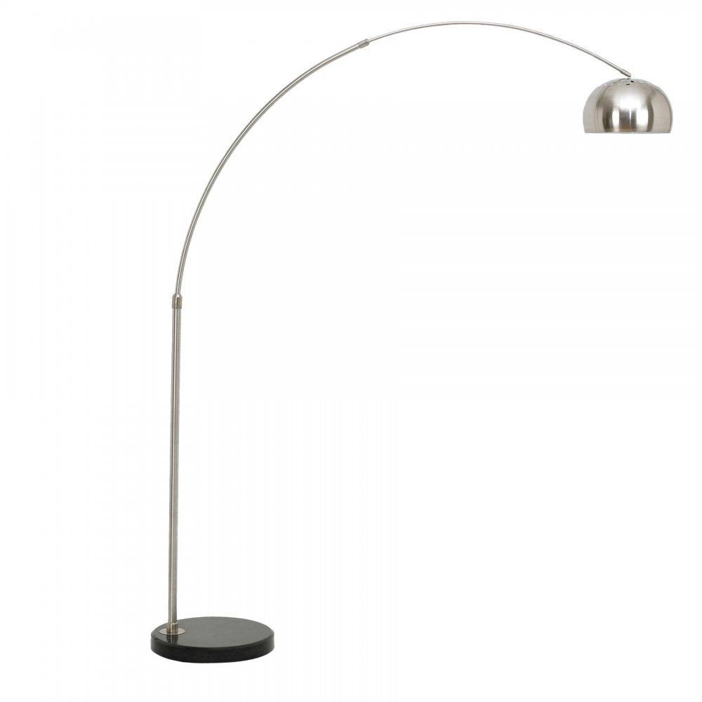 arc floor lamp with circular marble base modern lamps cult uk. Black Bedroom Furniture Sets. Home Design Ideas