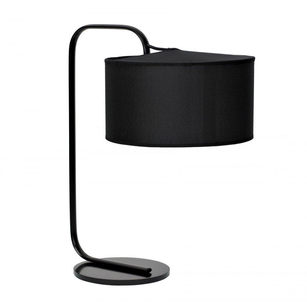 Black Shower Table Lamp