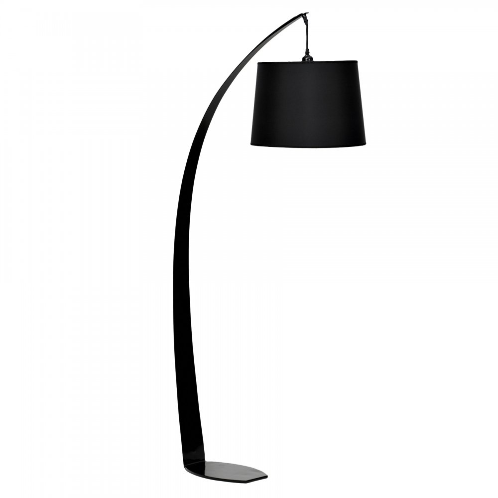 Black fez floor lamp aloadofball Choice Image