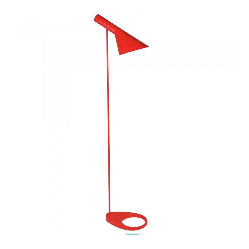 red aj floor lamp  cult furniture uk - red aj floor lamp