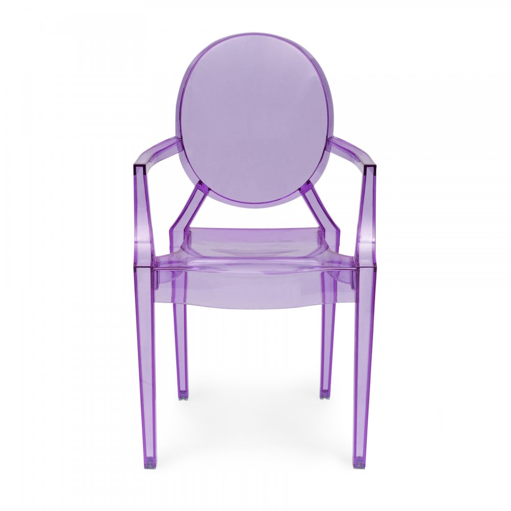style purple louis ghost armchair cult uk. Black Bedroom Furniture Sets. Home Design Ideas