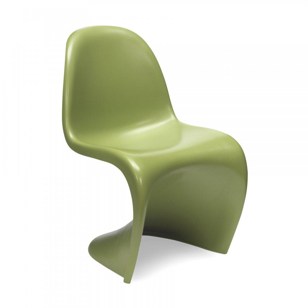 panton chair - green s chair