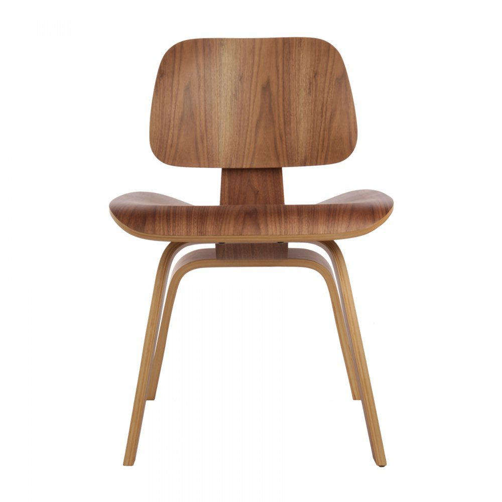 dcw walnut dining chair - iconic designs eames style dcw walnut dining chair