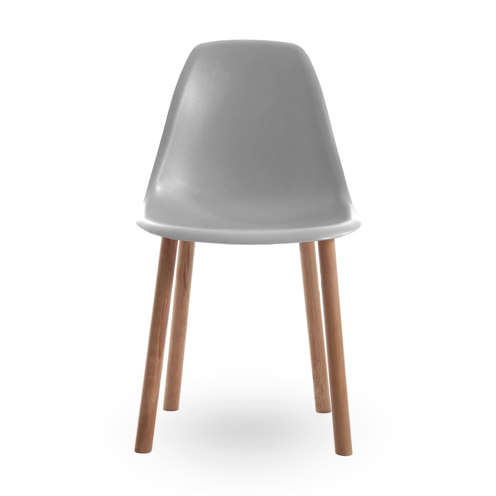Eames Style Contemporary Grey Dining Chair Cult UK