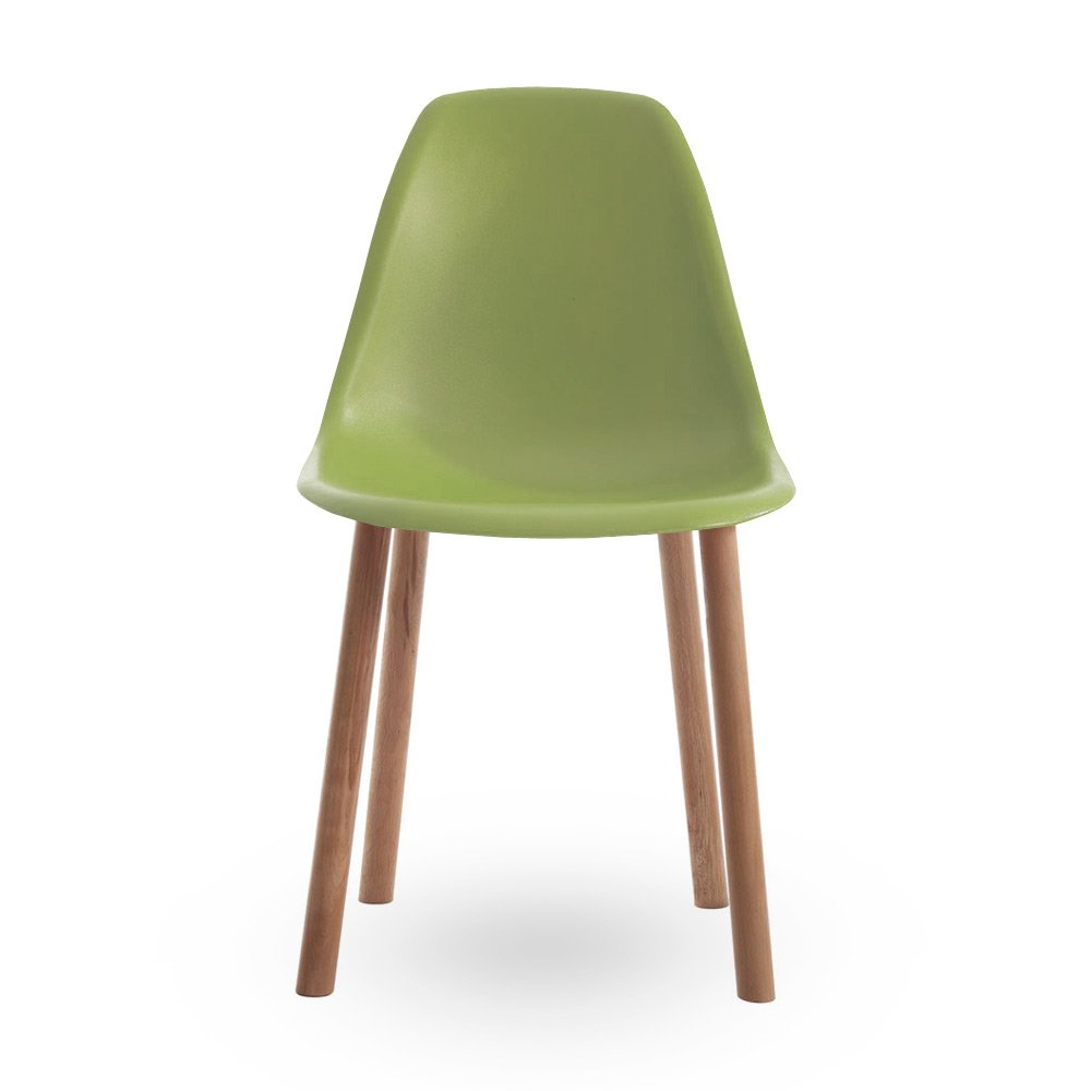 eames style contemporary green dining chair  cult uk - iconic designs style contemporary green dining chair