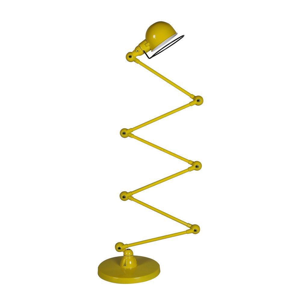 Large yellow loft floor lamp for Giant floor lamp yellow