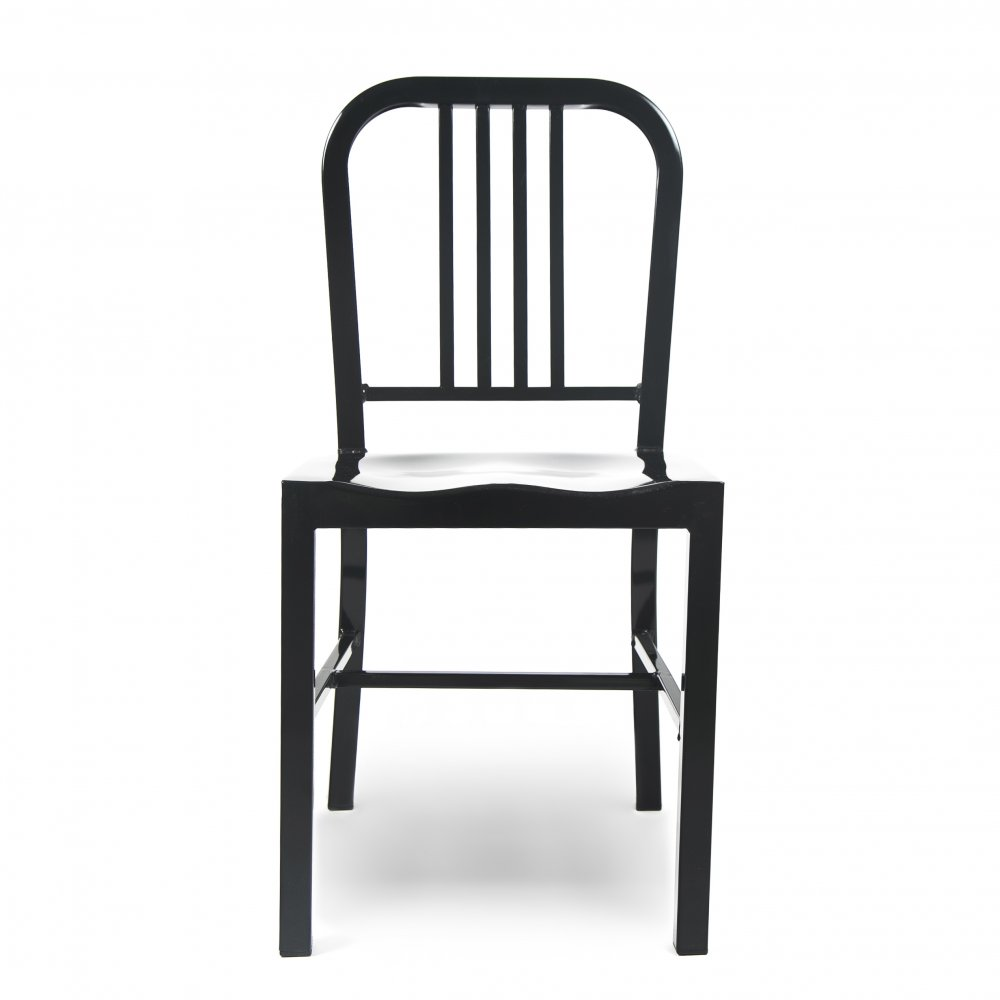 Black metal dining chair cult furniture uk