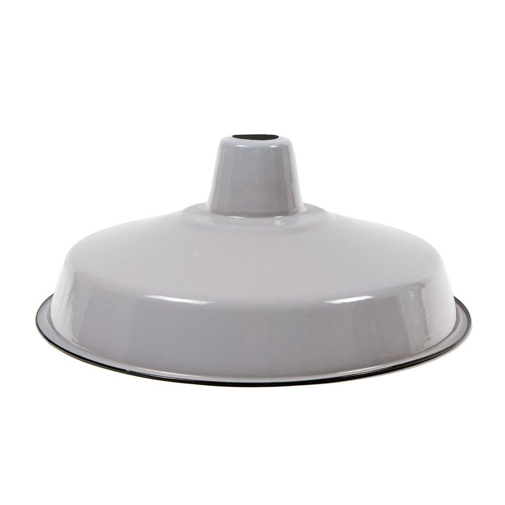 Enamel lampshade e27 in grey ceiling pendant lamps cult uk - Cool lamp shade ...
