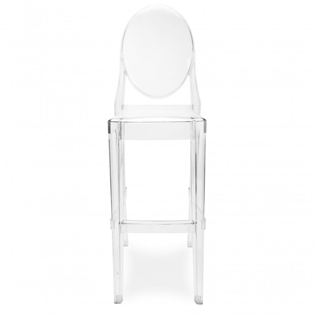 ghost style transparent dining chair - Chaise De Bar Transparente