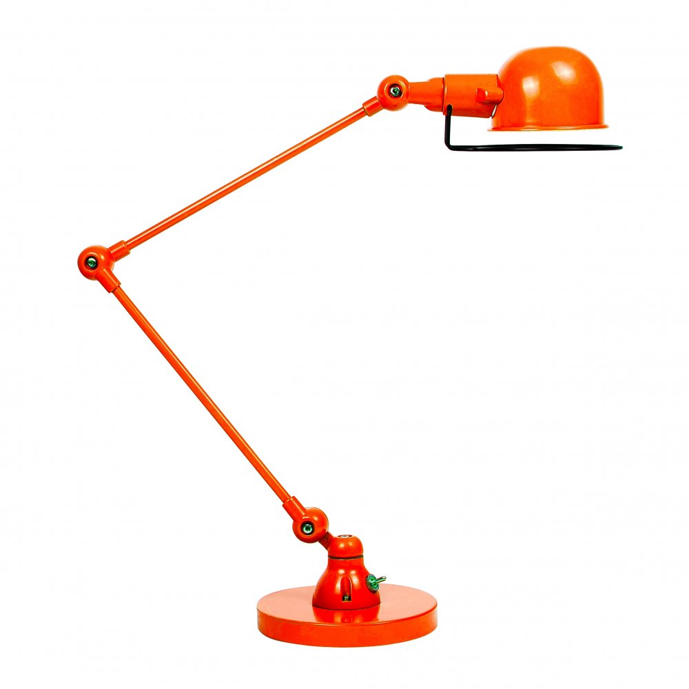 jielde style orange desk lamp industrial table lamps cult uk. Black Bedroom Furniture Sets. Home Design Ideas