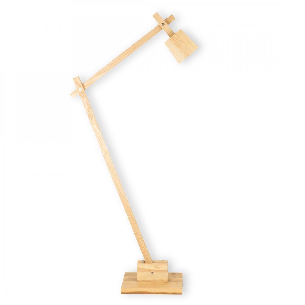 Wood angle floor lamp cult furniture uk cult living wood angle floor lamp mozeypictures Images
