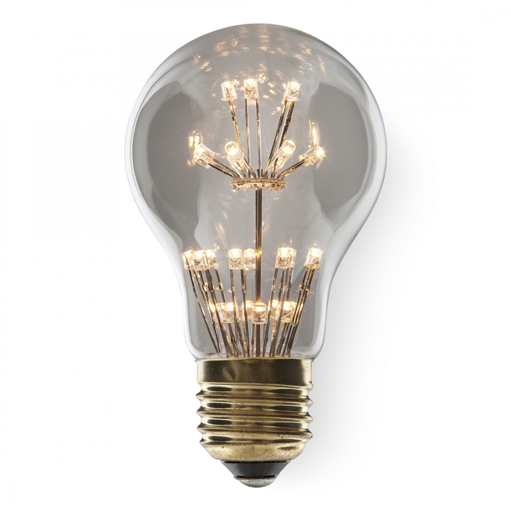 a19 fireworks filament 40w equivalent e27 led bulb led lighting. Black Bedroom Furniture Sets. Home Design Ideas