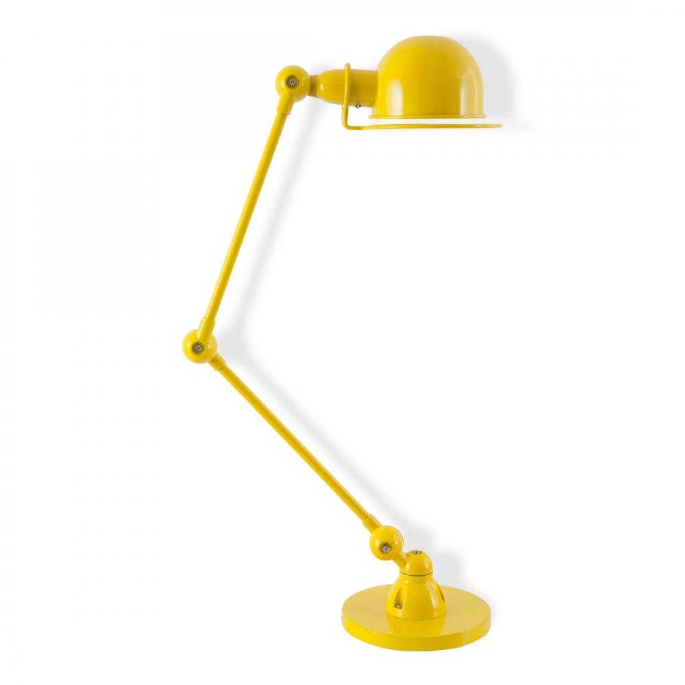 Jielde Style Yellow Loft Desk Lamp