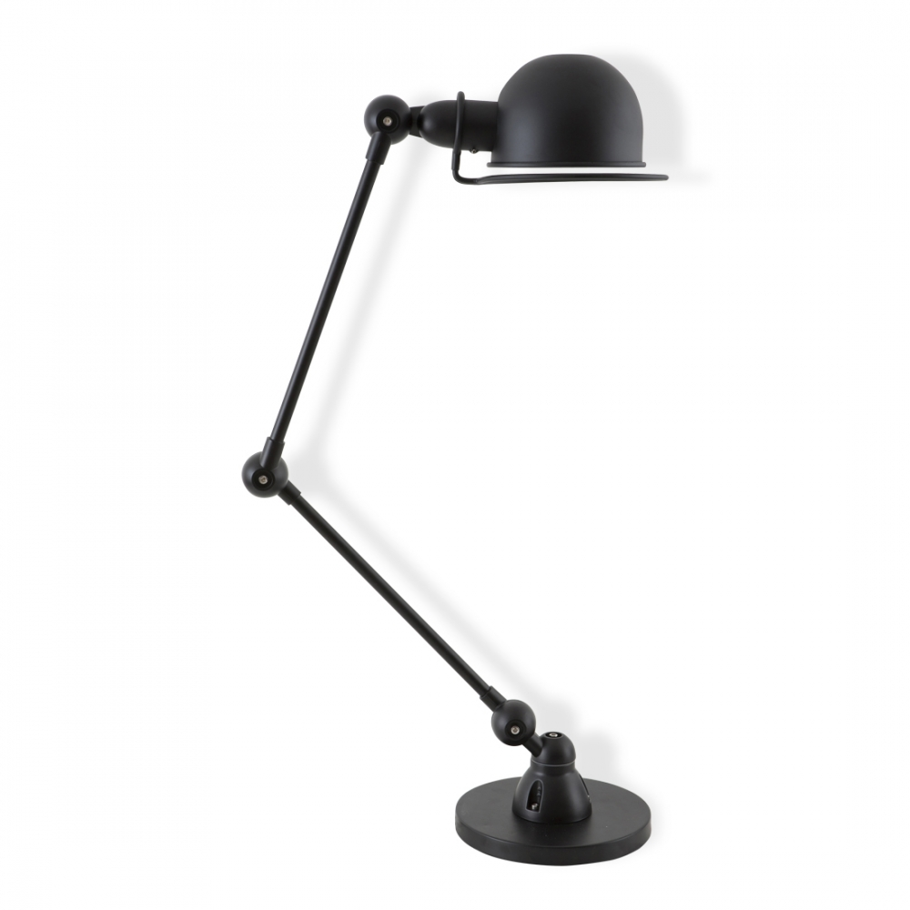 black loft desk lamp