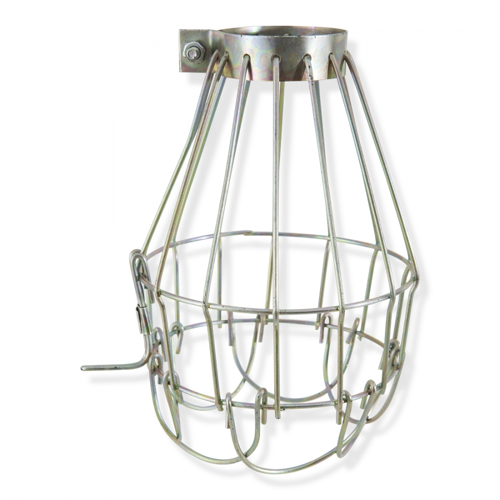 Wire Cage Light Brass or White | Contemporary Lighting | Cult UK