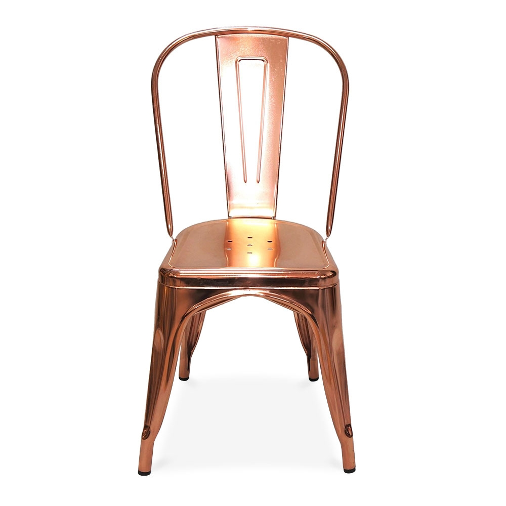 xavier pauchard plating rose gold side chair chairs xavier pauchard