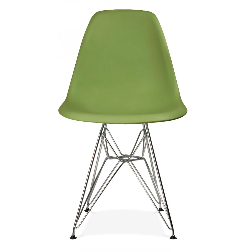 Green Chairs style green dsr eiffel chair | cult uk