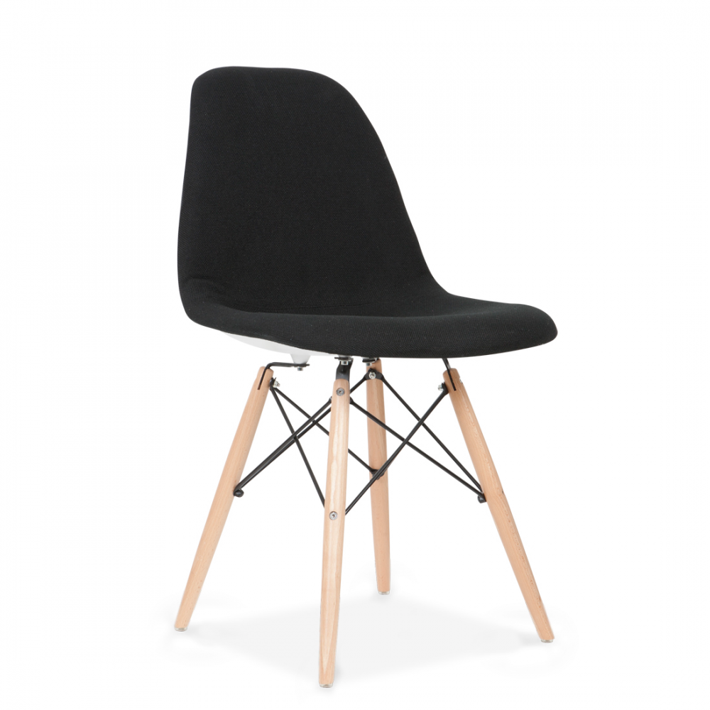eames style dsw upholstered chair dining cafe chairs. Black Bedroom Furniture Sets. Home Design Ideas