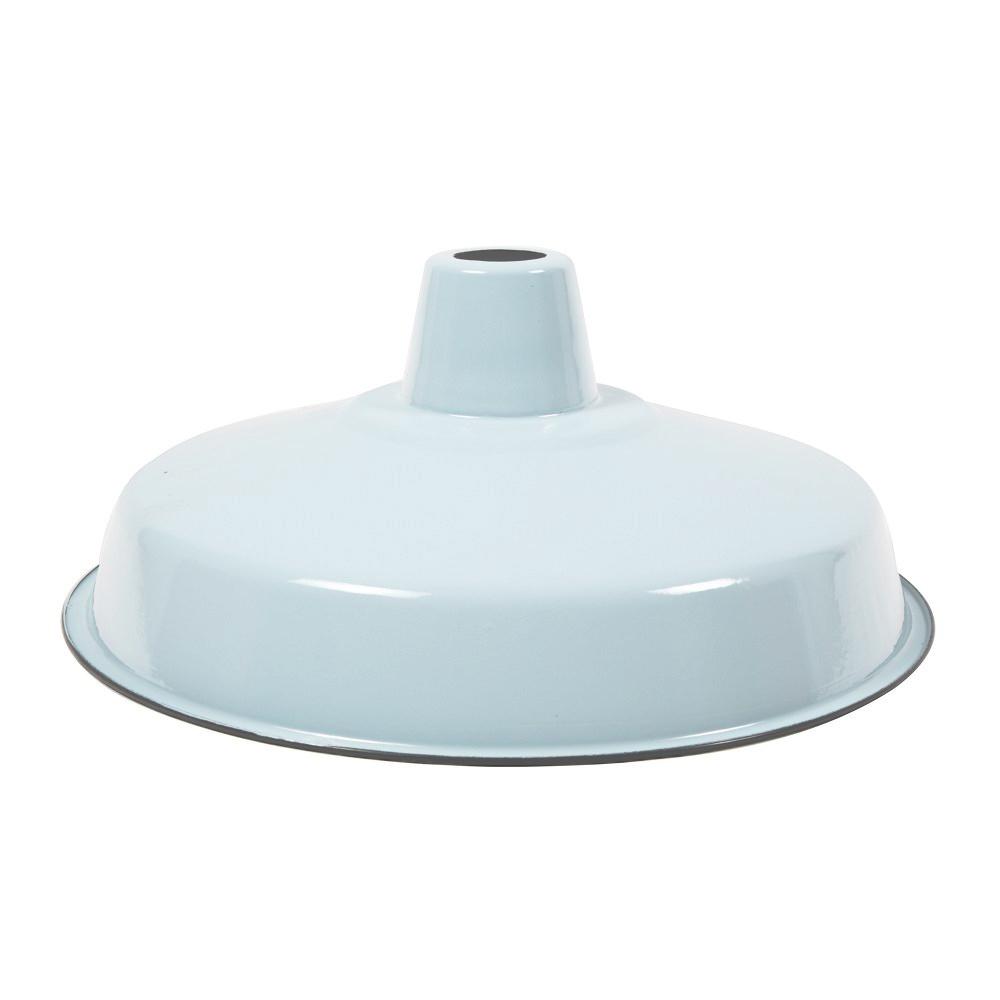 Enamel industrial lamp shade modern blue grey shade cult uk enamel lamp shade e27 pale bluegrey aloadofball Choice Image