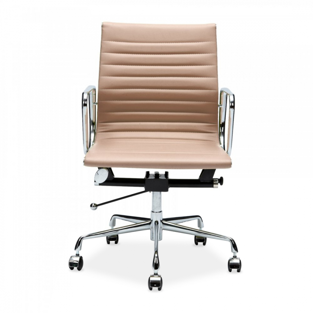 eames ribbed chair tan office. iconic designs beige short back ribbed chair eames tan office