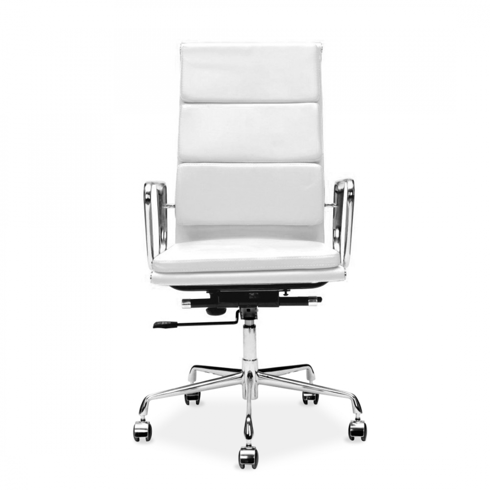Iconic Designs Style White Soft Pad Executive Office ChairEames Style White Soft Pad Office Chair   Executive Chairs   Cult UK. Eames White Soft Pad Style Executive Office Chair. Home Design Ideas
