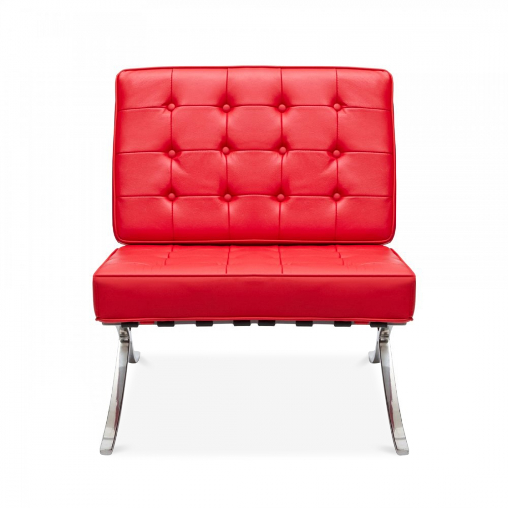 Barcelona Chair Style Style Red Barcelona Chair Cult Uk