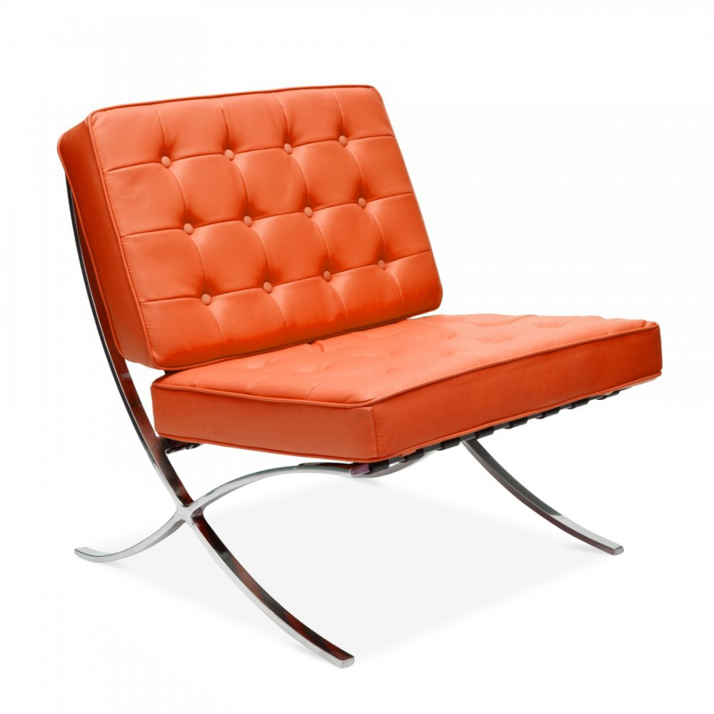 Barcelona Chair Style Style Orange Barcelona Chair Cult Uk