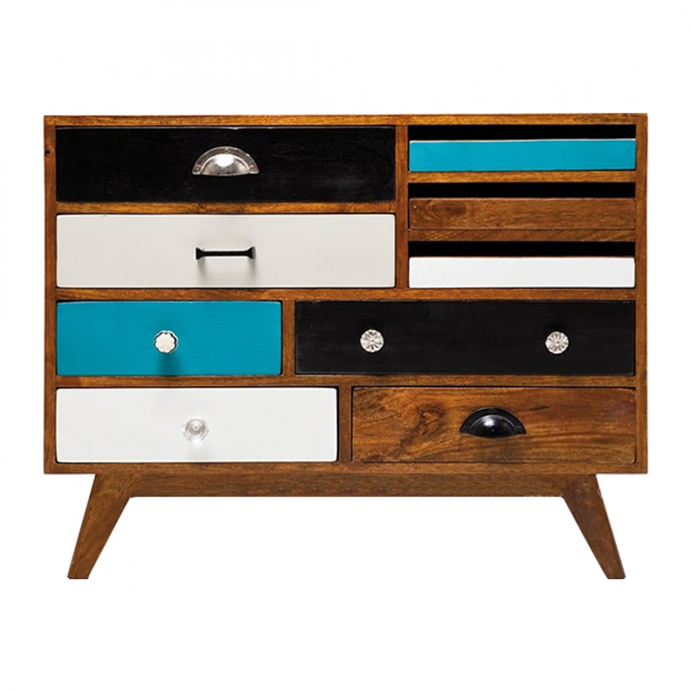 contemporary modern jasmine multi coloured sideboard cult uk. Black Bedroom Furniture Sets. Home Design Ideas