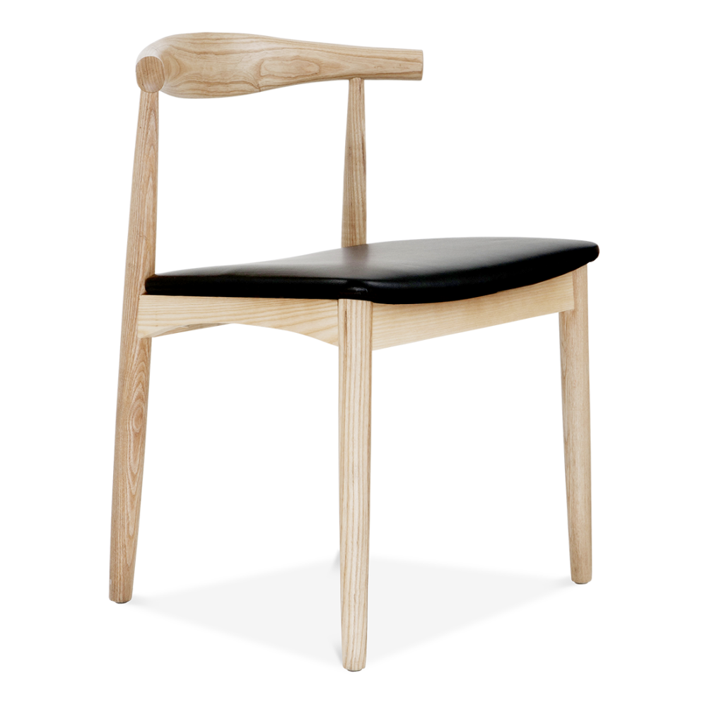 Beautiful Danish Designs Elbow Chair In Natural Ash. U2039