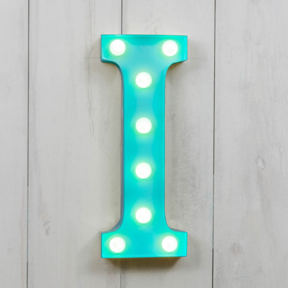 I Vegas Metal 11 Quot Mini Led Letter Lights Light Up