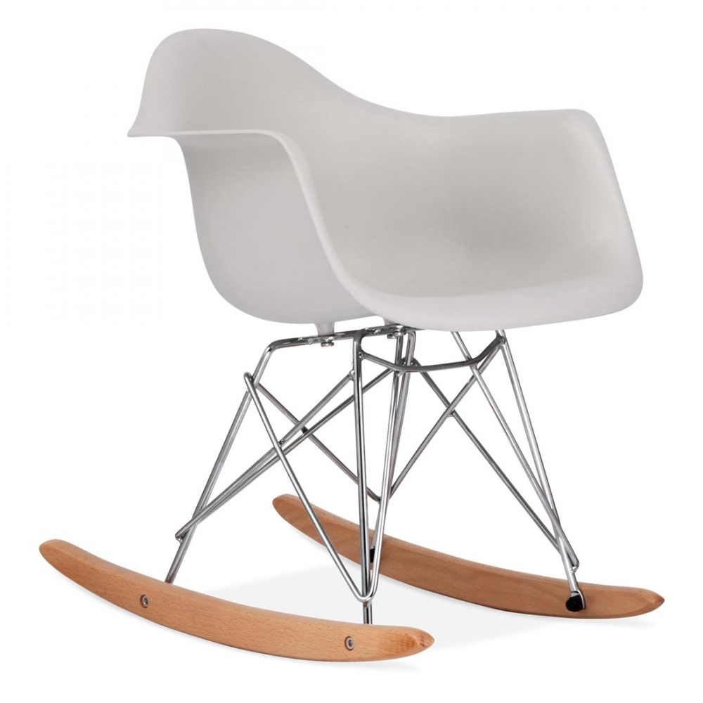 Eames inspired rar light grey kids rar rocker chair cult uk for Sofa skandinavisches design