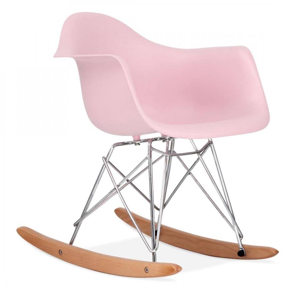 Iconic Designs Pastel Pink Kids RAR Rocker Chair. U2039