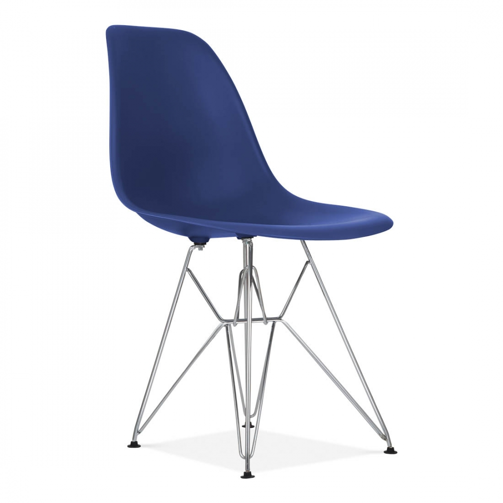 eames style royal blue dsr eiffel chair side chair cult uk. Black Bedroom Furniture Sets. Home Design Ideas