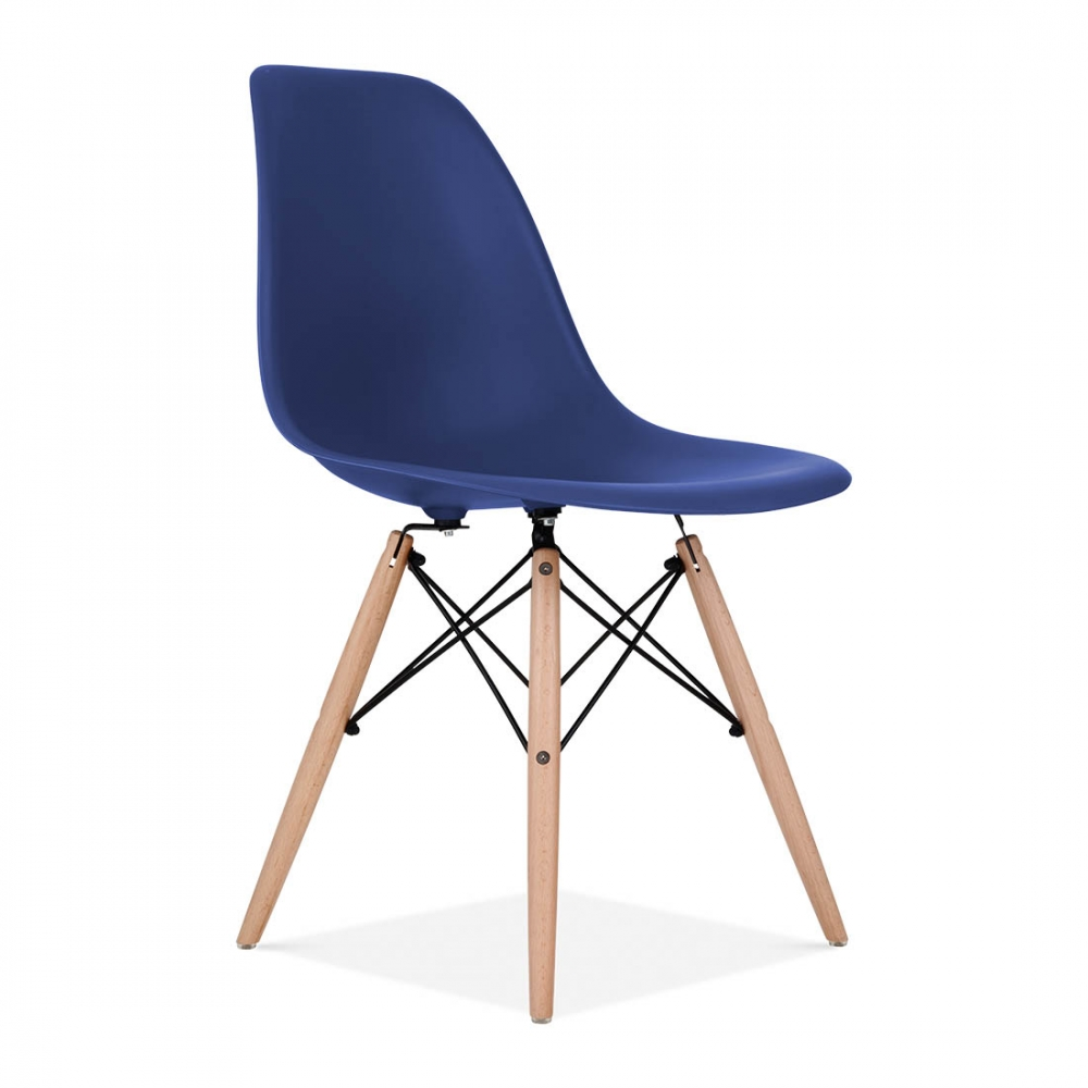 High Quality Iconic Designs Royal Blue DSW Chair. U2039
