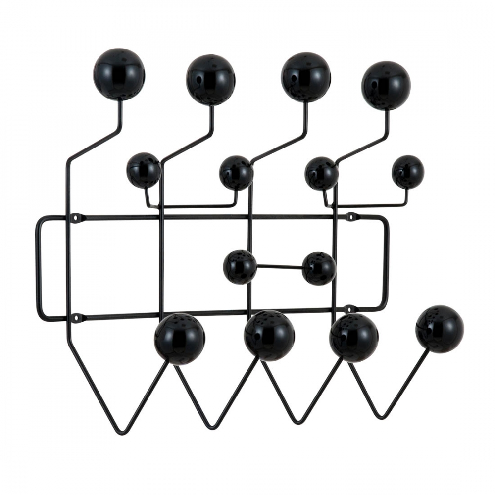 black eames hang it all modern coat hangers cult furniture. Black Bedroom Furniture Sets. Home Design Ideas