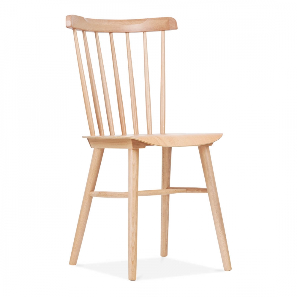 Wooden Windsor Chair   Natural ...