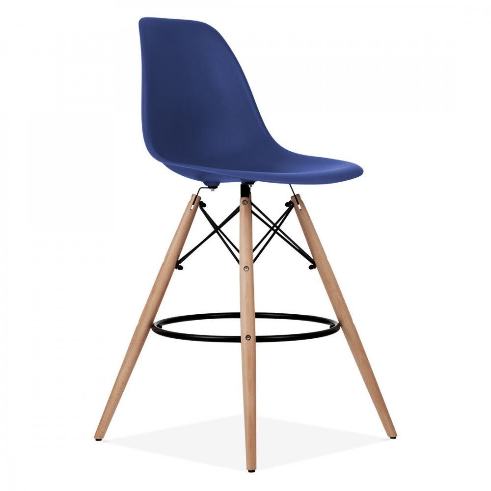 Iconic Designs DSW Style Stool Royal Blue cm