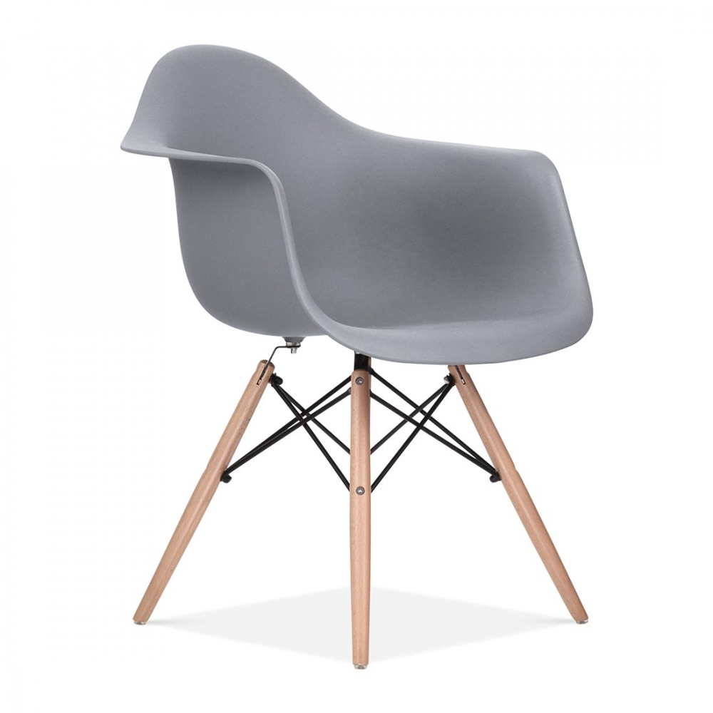 eames style grey daw chair | side, cafe & bar chairs | cult uk - Chaise Daw Charles Eames