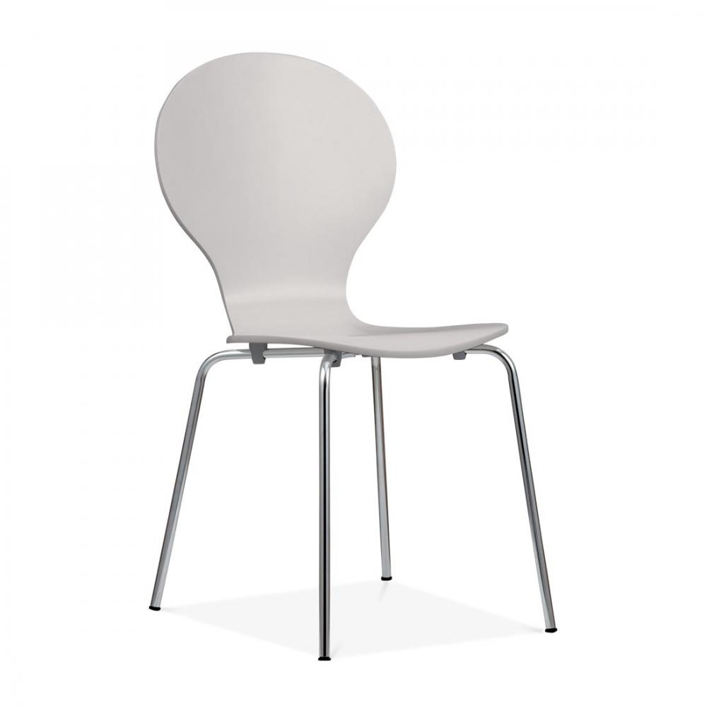cult living kitsch light grey dining chair  side chairs  cult uk - cult living kitsch dining chair  light grey